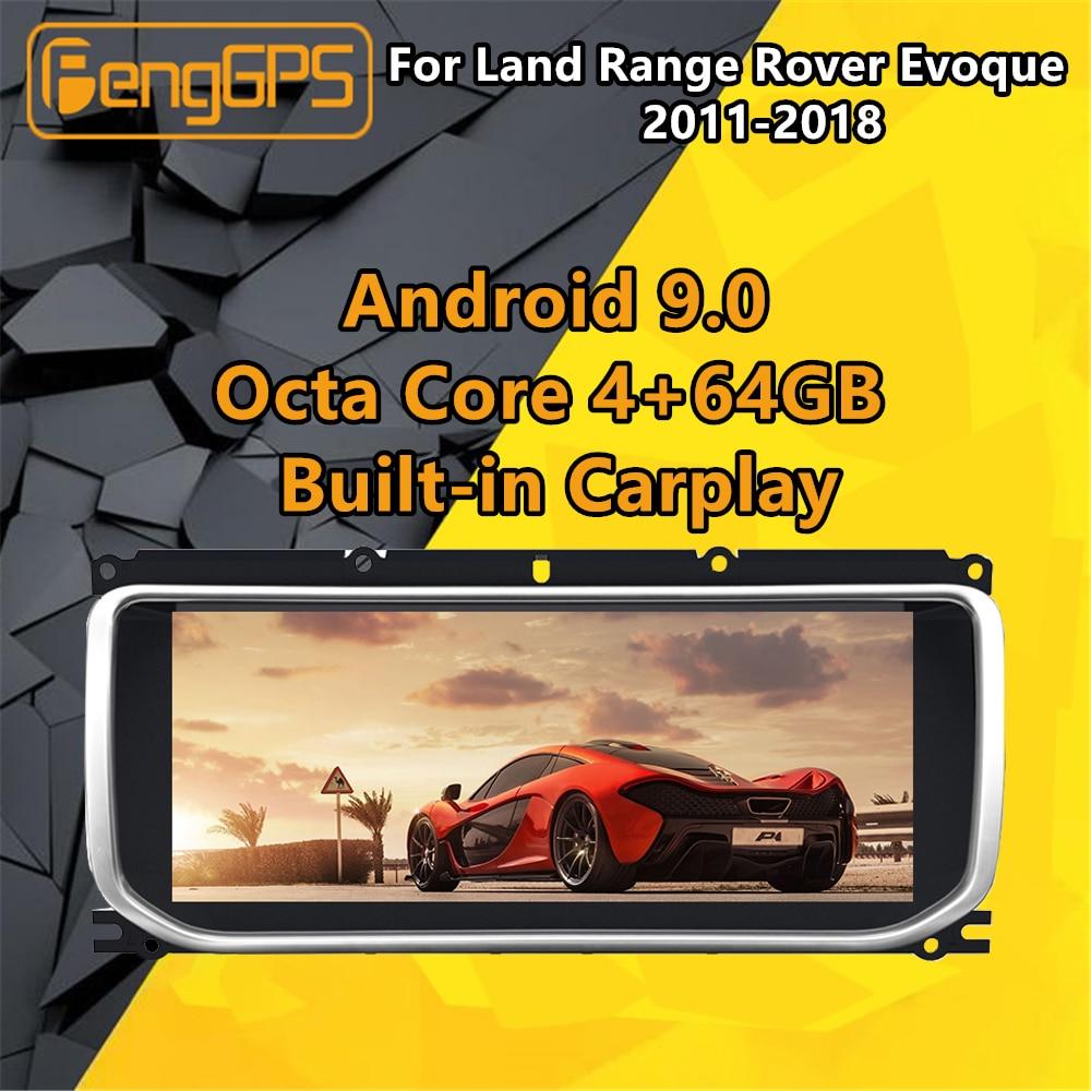 For Land Range Rover Evoque L538 Android Radio 2011 - 2018 Car Multimedia Player Stereo Audio autoradio GPS Navi unit Screen