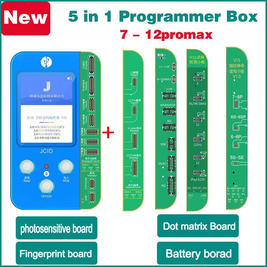 آيفون 7 8 plus X XR XS 11 12 برو ماكس Lcd مبرمج الوجه معرف حساس صحيح لهجة البطارية بصمة قراءة الكتابة إصلاح متجر