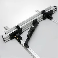 table saw fence system tools set for woodworking diy tools 8001000mm aluminum alloy fence for circular saw engraving machine