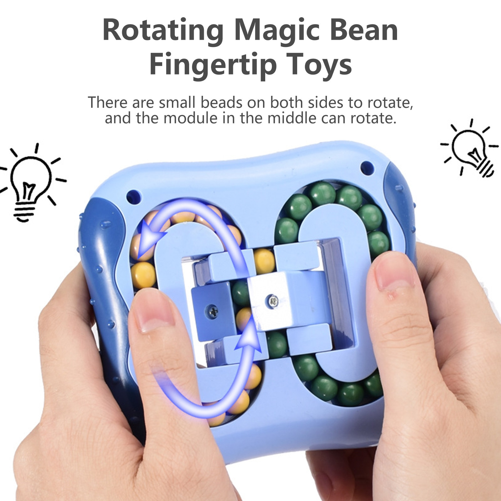 Fidget Toys Iq Brain Teaser Puzzle Rotating Magic Be-an Fingertip Toy Stress Relief Toys for Kids and Adult Stress антистресс W* enlarge