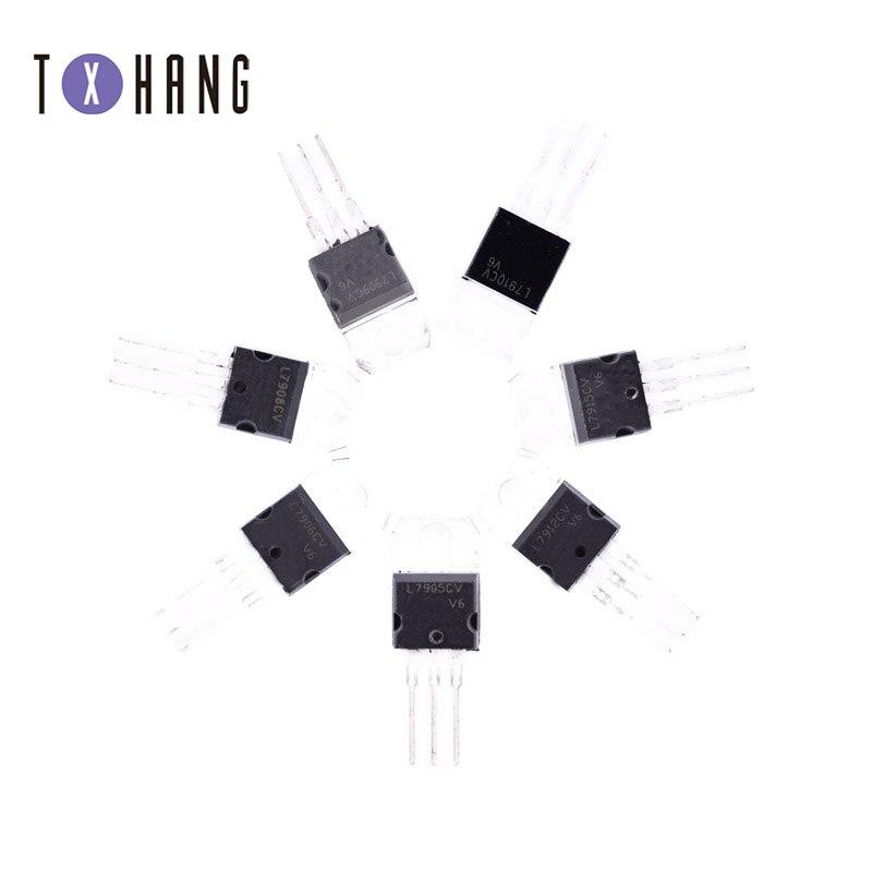 10 pçs/lote L7909CV TO220 L7909 PARA-220 7909 LM7909 MC7909 novo regulador de tensão IC diy eletrônica