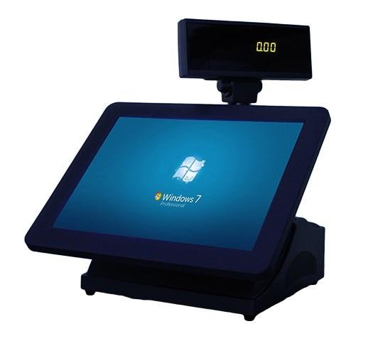 Touch pos pc gl-8000 intel celeron enlarge