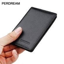 Petit paquet de cartes Ultra-mince en cuir pour hommes mini paquet de cartes compactes simple porte-cartes multi-cartes porte-carte didentité pour femmes