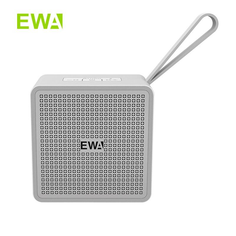EWA TWS-altavoz pequeño portátil De Metal con Bluetooth, cuerpo De aleación De...