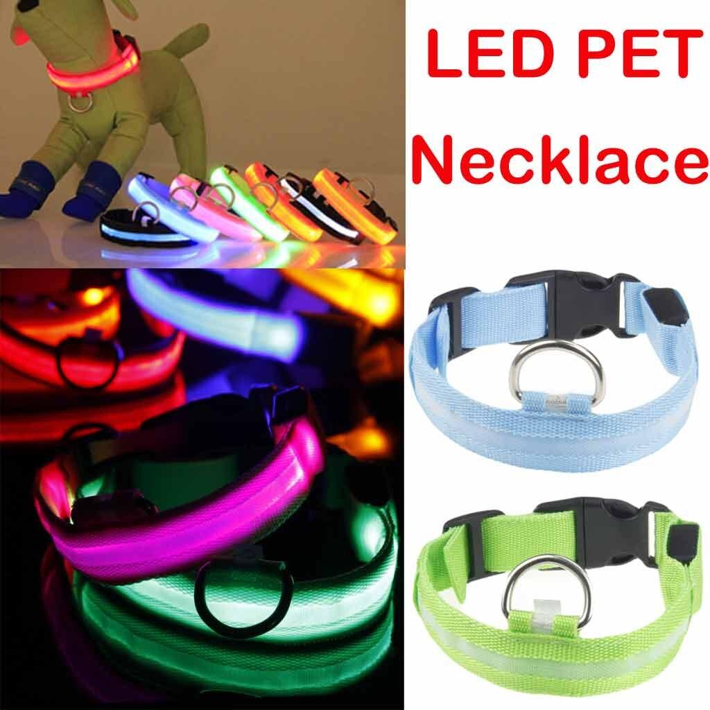Collar de perro Para iluminado Cat Chat accesorios Pour Chats Gatos Productos...