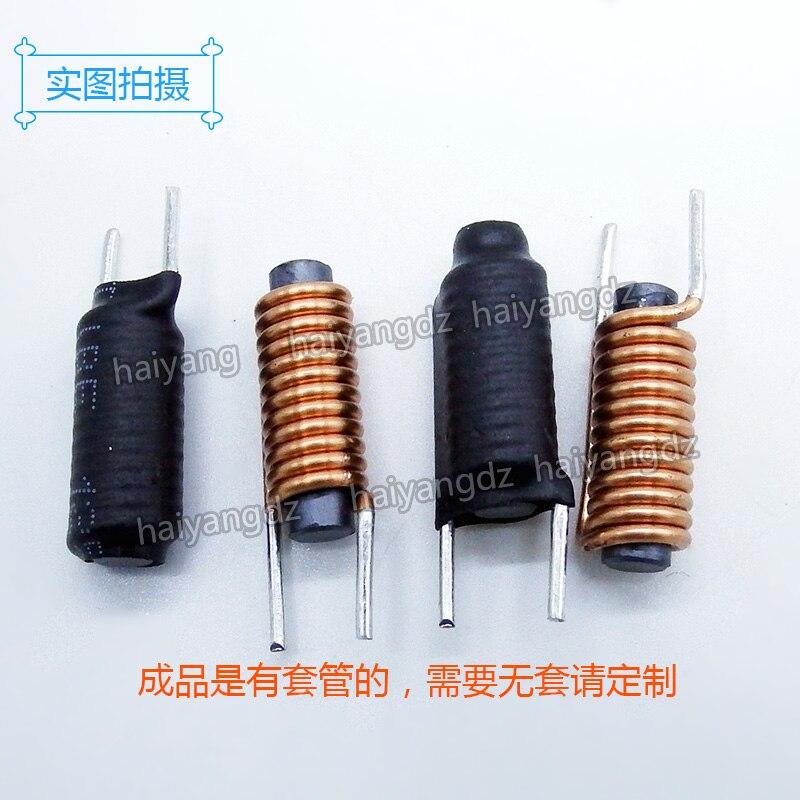 5*20-12,5, inductores de barra de diámetro 1,2 3uh, inductancia de barra magnética, inductancia de barra magnética