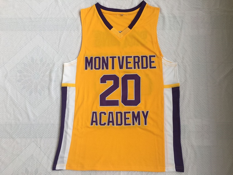 Retro College Stitched Ben Simmons 20 Montverde Academy Eagles Basketball Jersey