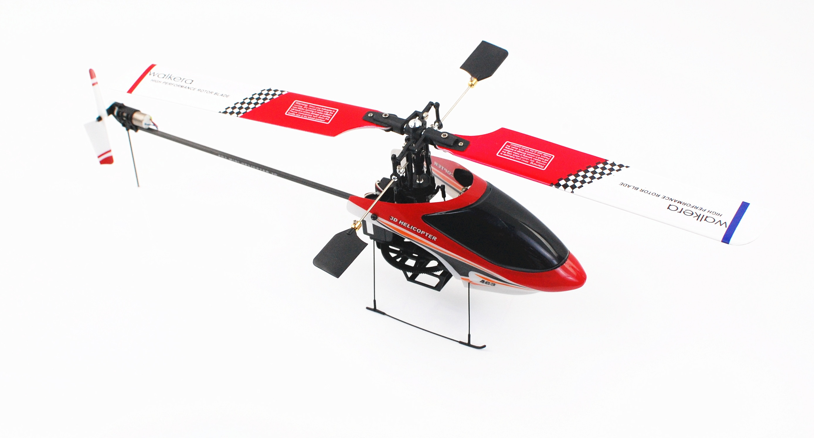 Walkera 4G3 6CH 2.4G 3D Helicopter /upgraded Brushless ESC+ Motor (WK-2601)