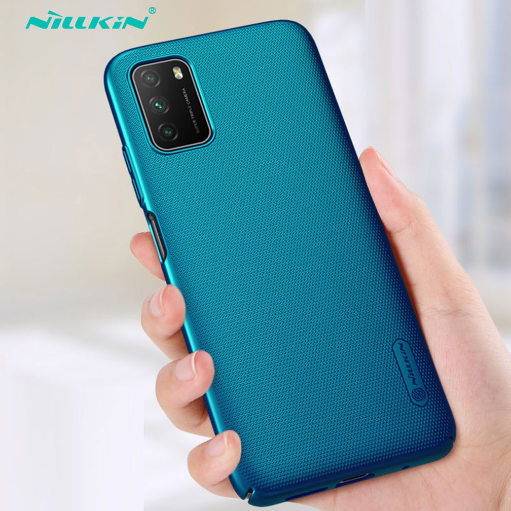 For Xiaomi Poco M3 Case NILLKIN Ultra-Slim Super Frosted Shield  Hard PC Mobile phone case For Xiaomi Poco M3 Cover