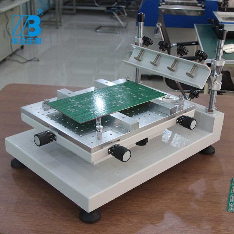 Manual de alta Precisão Impressora stencil Pasta de Solda SMT