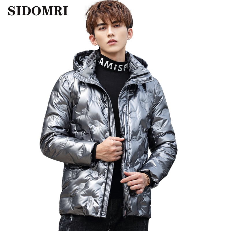 Men Down Jacket  90% White Duck Down Hooded Man High Quality Long Coat Thick Warm Men Down Coats