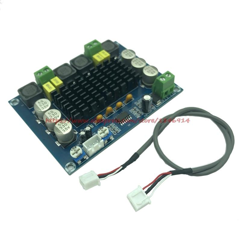 XH-M543 High Power Digital Power Amplifier Board TPA3116D2 Audio Amplifier Module Class D Dual Channel 2*120W