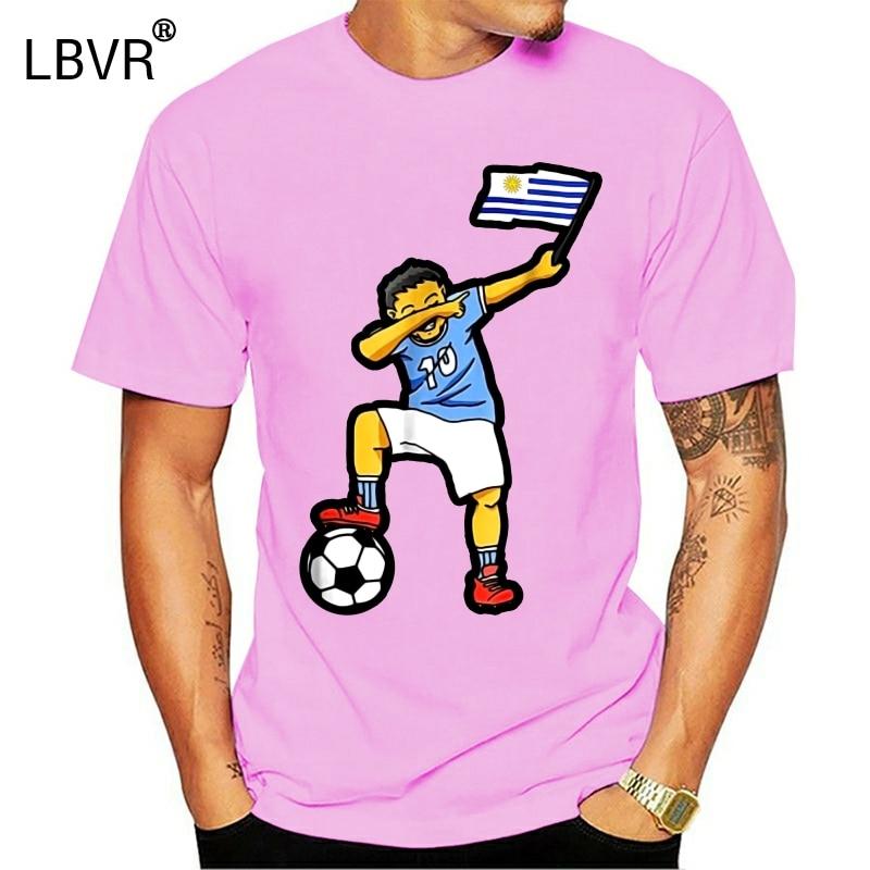2020 marca de verão adultos camisa casual camiseta uruguai dabbing soccers camisa 2020, uruguai teamfitness tshirt