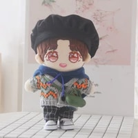 sweater hoodie backpack beret clothes pants 20cm baby exo doll clothes doll accessories