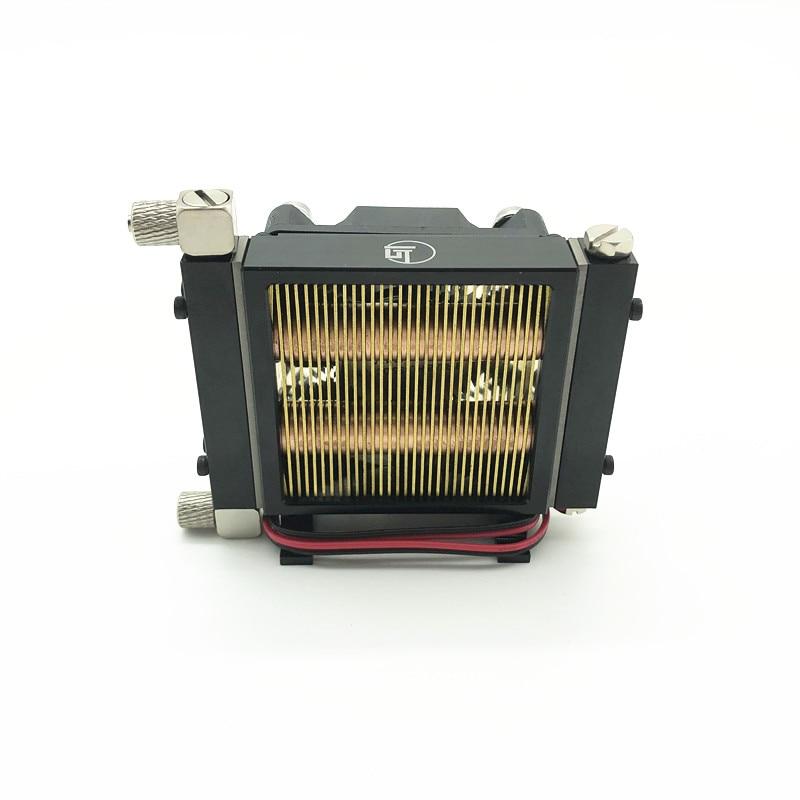 Hidráulico mini dissipador de calor tubo de cobre completo e radiador palisades para 1/12 1/14 rc escavadeira carga carro atualizar peças