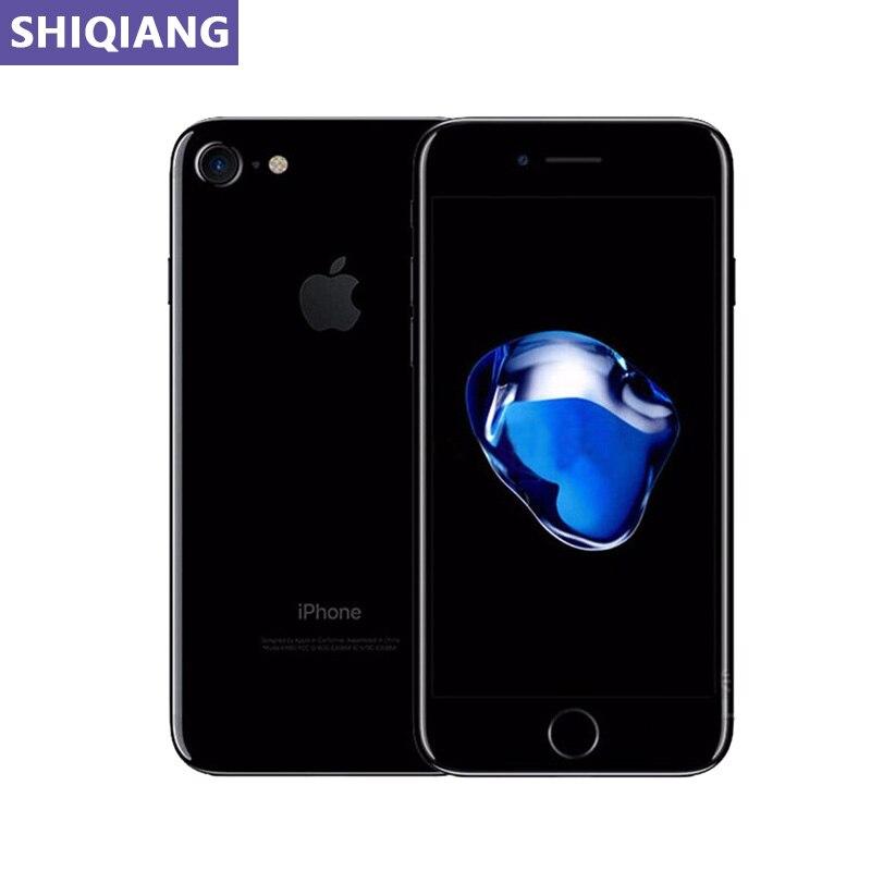 Original Used Apple iphone 7 Telephone 4.7in Fingerprint Unlock Smartphone 2+32/128/256GB GPS&NFC 7+12MP 1 SIM los Mobile Phone