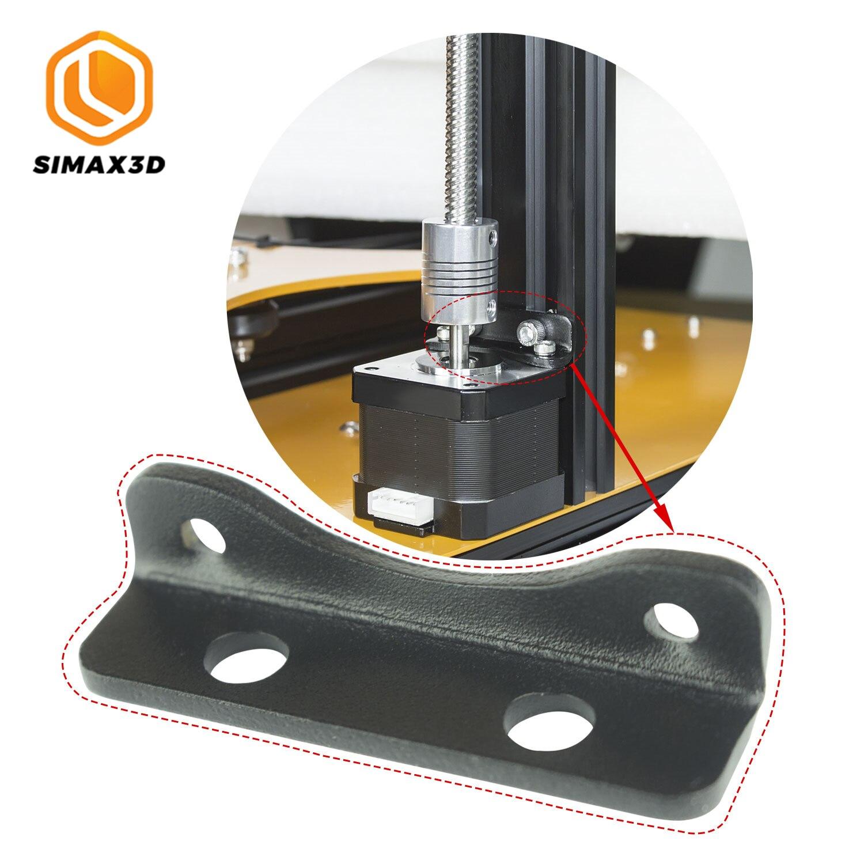 SIMAX3D hotend piezas de impresora 3d Z soporte del motor paso a paso amortiguador acústico Nema Motor amortiguador corcho Junta Reprap IsolatorFor ender 3 pro kits