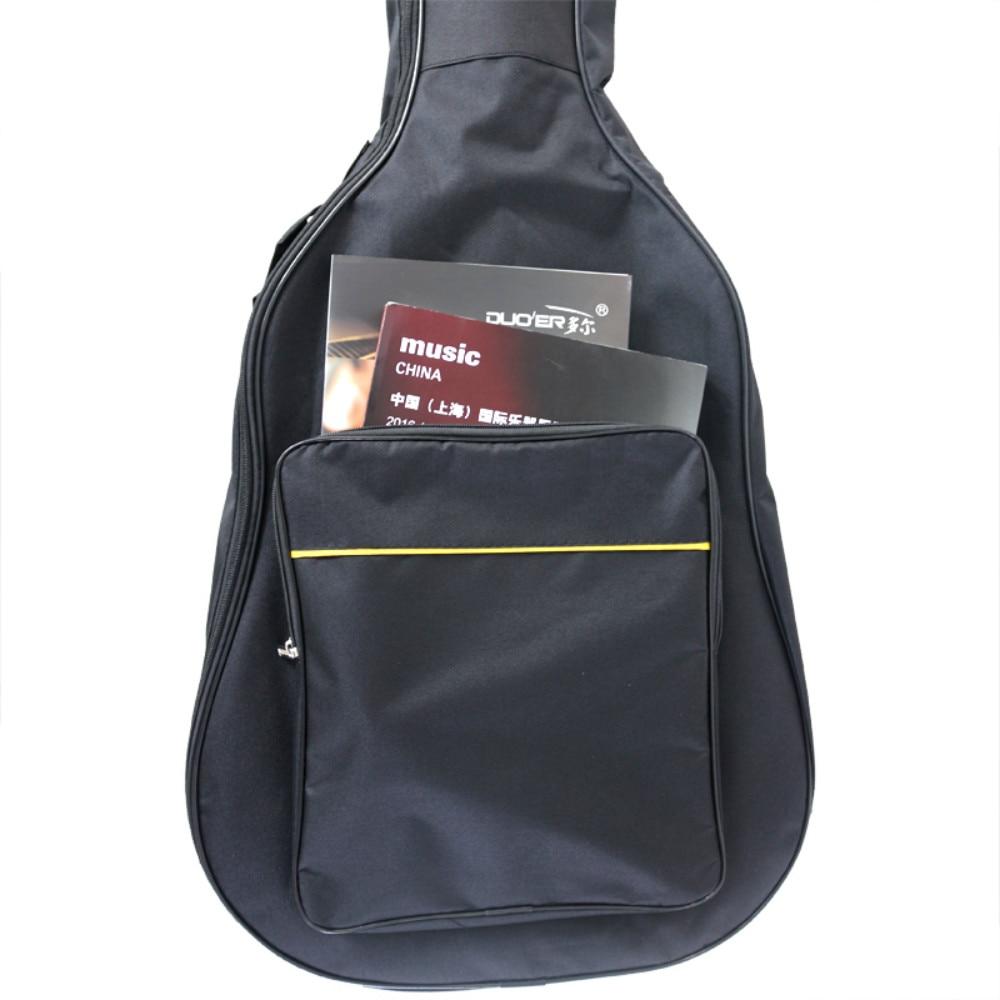 Duoer Guitar Base Waterproof 41 Inch Guitar Bags Cotton Musical Instrument Bag China Factory Customize Musical Bags Wholesale enlarge
