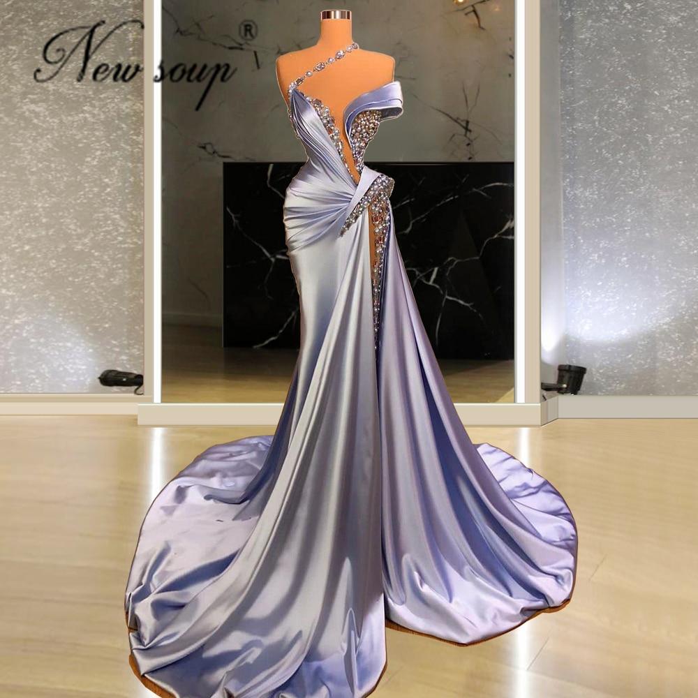 فستان سهرة بتصميم حورية من Haute دبي, فستان سهرة نسائي مطرز بالخرز من الشرق الأوسط بتصميم حورية من موضة 2021 ، مناسب للحفلات والسهرات