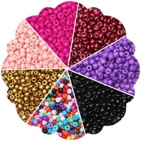 pony beads jewelry making craft seed beads for diy craft project bracelet necklace charms for bracelets 2 3 4mm