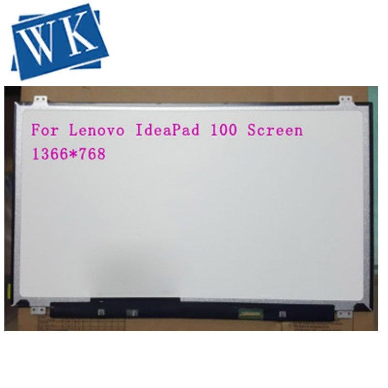 Замена для lenovo IdeaPad 100 экран 100-15IBD HD светодиодный дисплей для lenovo Ideapad 100-15IBY 15,6 тонкая матрица ноутбука