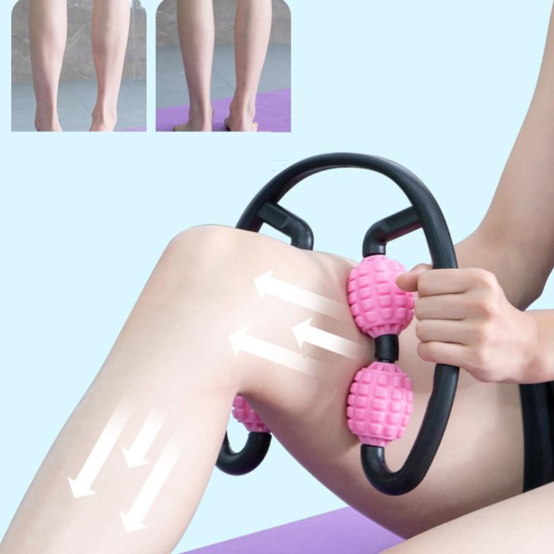 Espuma de eje músculo relajante masaje de Material de PP de Stovepipe los músculos de la pantorrilla Yoga accesorios para equipos de fitness aliviar la fatiga