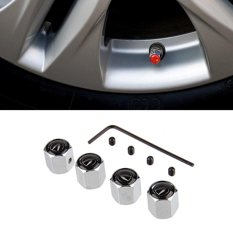Car Styling Auto Wheel Anti-theft Valve Stem Caps for Chang an Alsvin V7 Benni EV CS15 EV CS35 CS75 CS85 CS95 Alsvin CS55 Eado