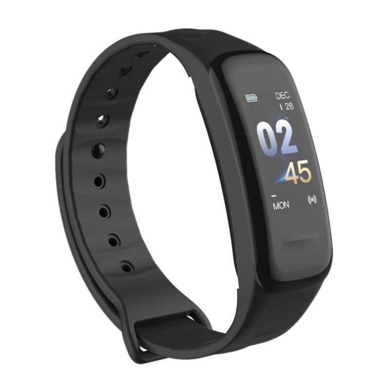 C1Plus pulsera inteligente Color contador de pasos rastreador de actividad ritmo cardíaco Monitor de presión arterial banda inteligente para Android IOS reloj de pulsera