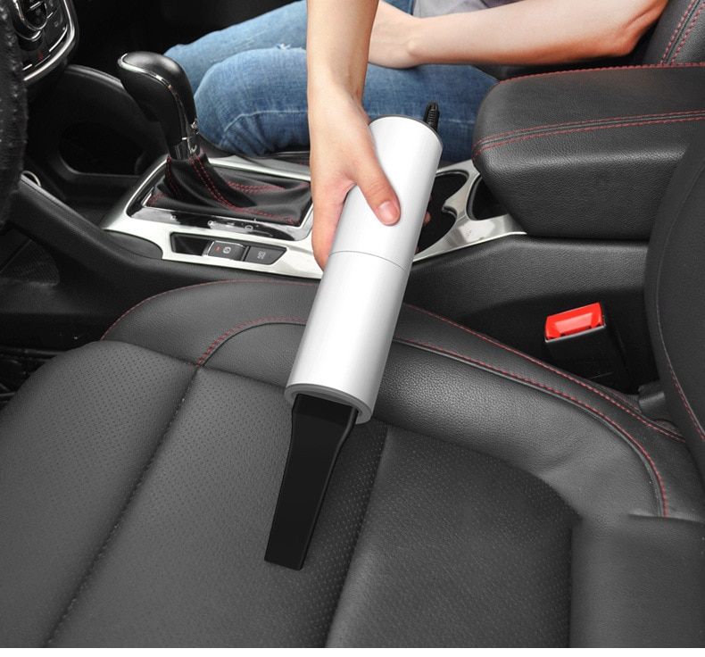 120W Powerful Car Vacuum Cleaner 12V Handheld Car Vacuum Cleaner Wet and Dry  Auto Vacuum Cleaner Robot for Car Dust Removal