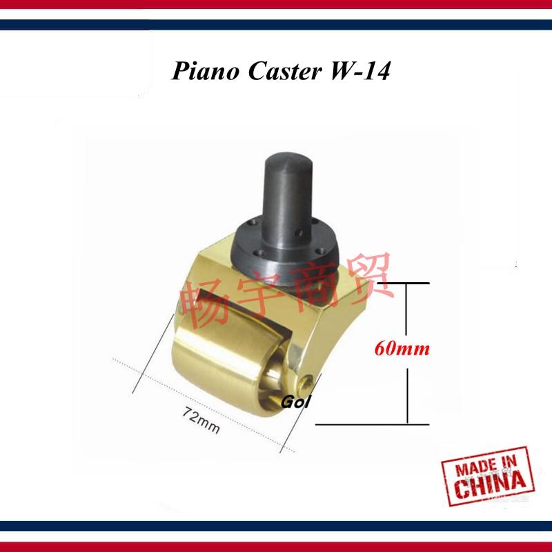 Piano tuning outils accessoires haute qualité Piano roulette W-14 truckle Piano outil de réparation pièces