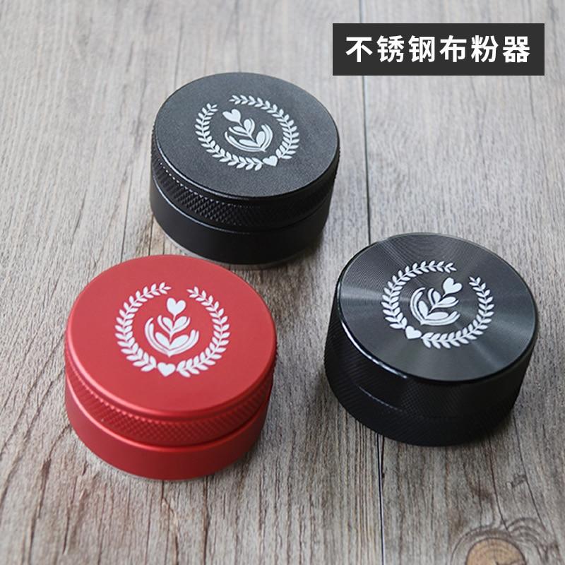 Distribuidor de café/leveler ferramenta distribuidor de café/café em pó-distribuidor ferramenta de nivelamento/51mm/53mm /54mm