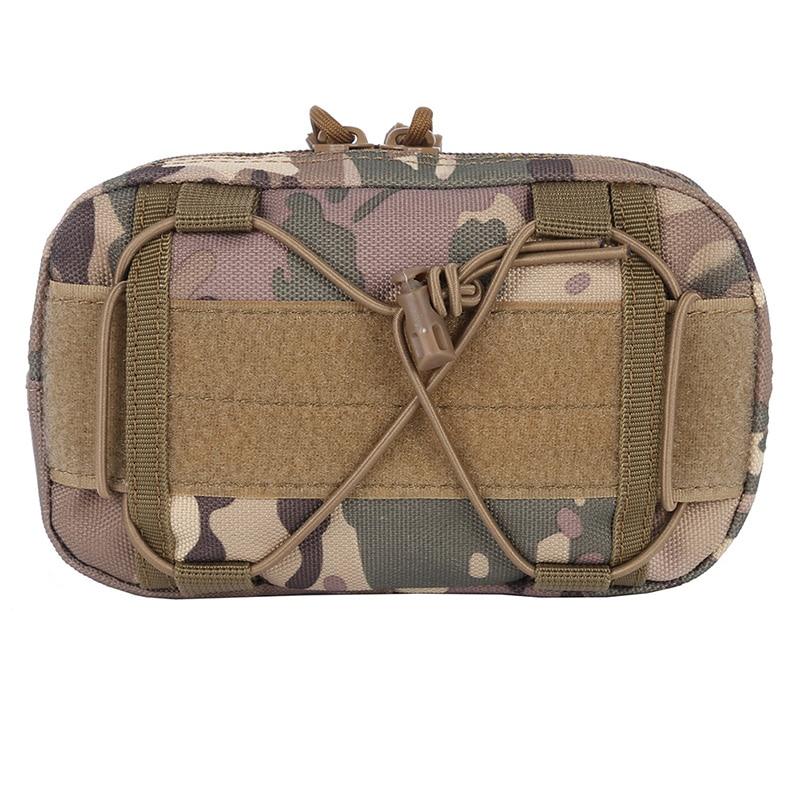 Tactical Molle Waist Bags Utility Map Admin Pouch EDC Tool Belt Bag Organizer Waist Pack Bag