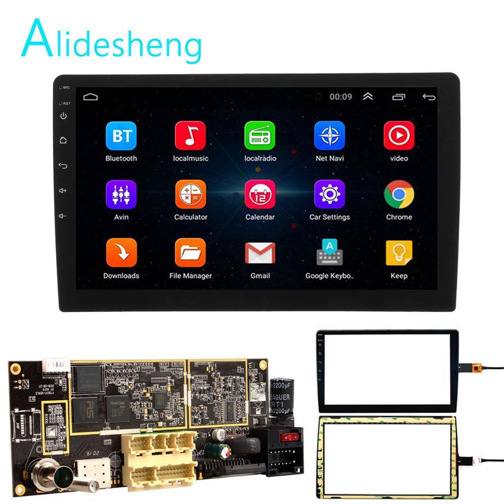 2din Android 8,1 placa base 9/10 pulgadas de la Radio del coche de navegación GPS wifi SWC pantalla táctil USB 1G + 16G universal para Hoxiao CARLAOER