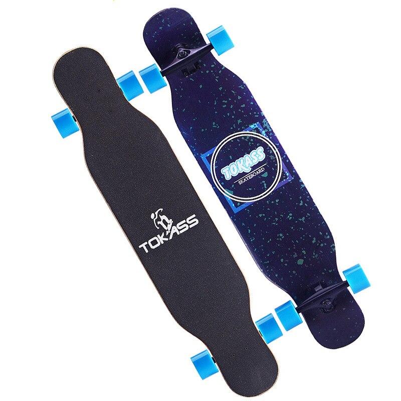 Street Beginner Skateboard Fashion Complete Action Skate Board Land Surfboard Long Board Gyroroue Fitness Equipment BI50SB