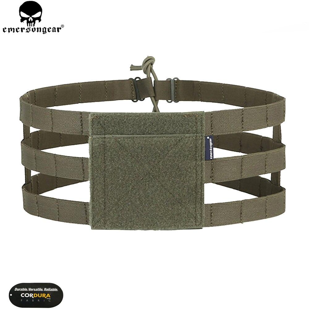 EMERSONGEAR 3 bandes LITE CUMMERBUND pour AVS/JPC gilet Molle gilet accessoires Airsoft Combat