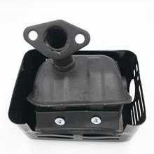 1pc silencieux déchappement Durable adapté pour Honda GX120 GX160 GX200 168F moteur générateur pompe à eau pour Honda GX120 GX160 GX200 168F