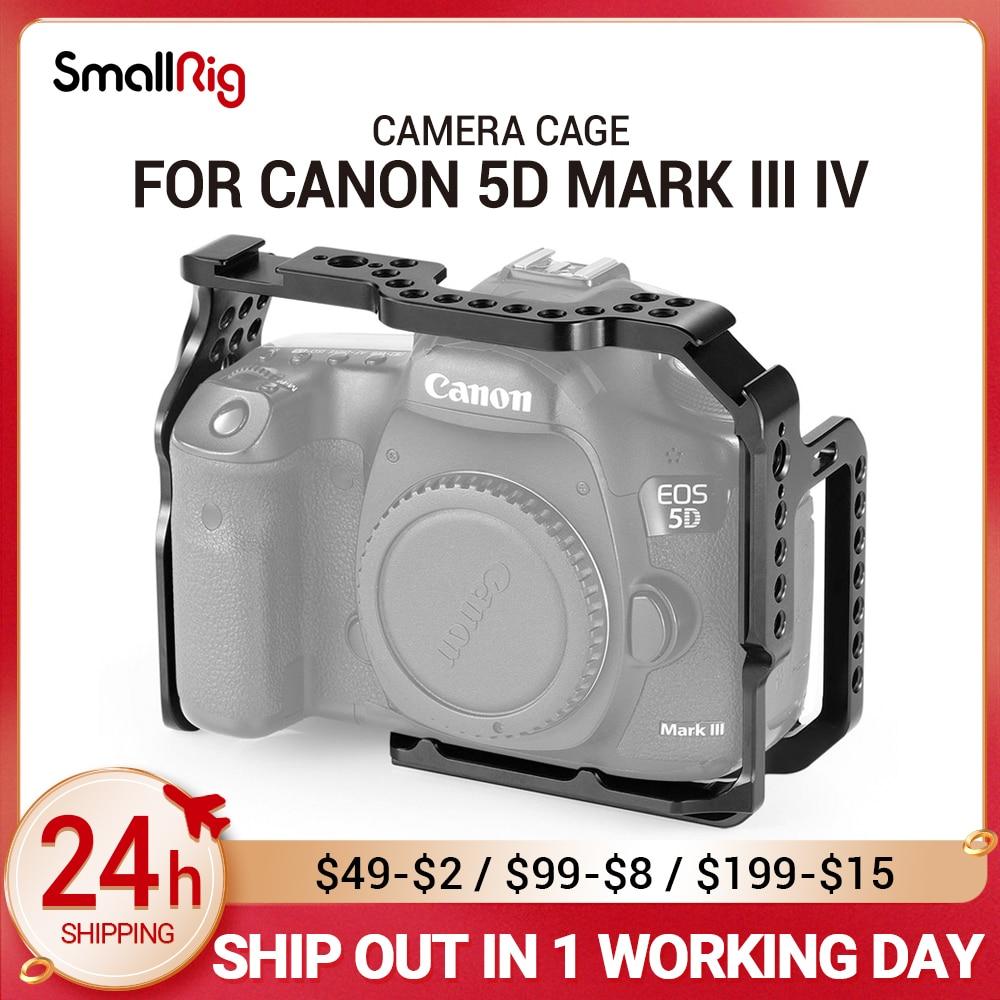 كاميرا صغيرة الحجم خلوية بعلامة خلوية على شكل قفص خلوي لكاميرا كانون 5D Mark III IV مع قضيب ناتو كولد شولدر لتركيب الأحذية لتقوم بها بنفسك 2271