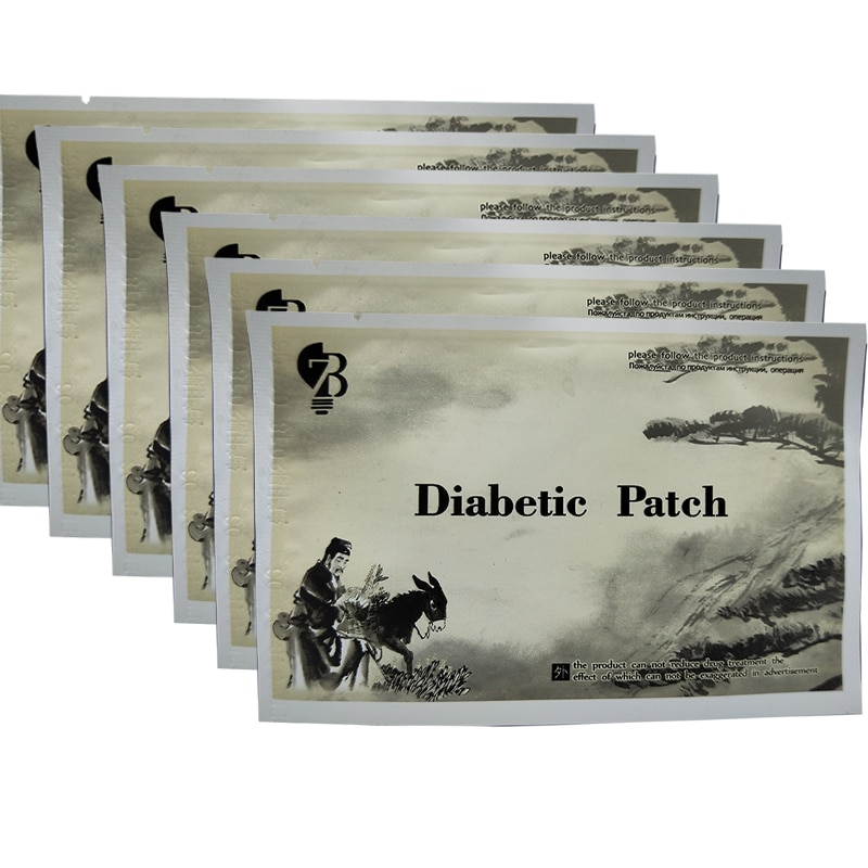 10 pces tipo 2 diabetes remendo medicamentos ervais naturais chineses tratamento cura diabetes reduzir alto açúcar no sangue produto