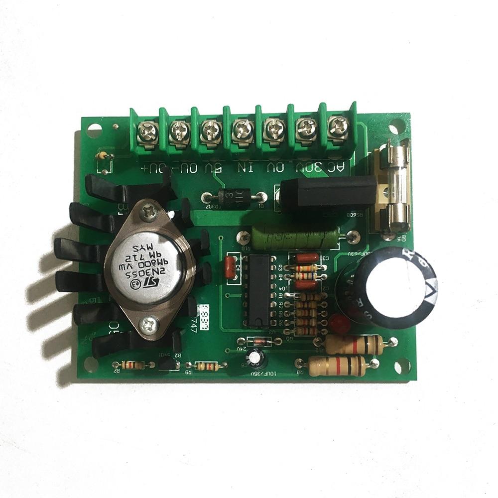 30V-2A/3A manual tension adjustment board control board magnetic powder brake clutch tension board