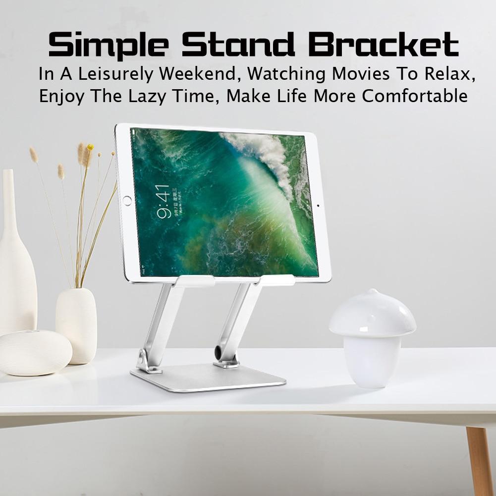 Aleación de aluminio Tablet Notebook soporte Stand Riser altura ángulo ajustable Laptop Stand para Macbook Air Pro 13 15