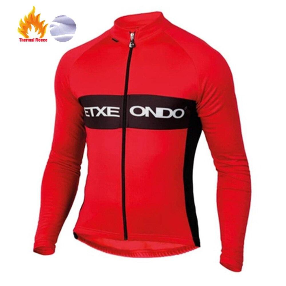 2019 Etxeondo Майо ciclismo invierno с длинным рукавом Велоспорт Джерси велосипед одежда Рубашки MTB Одежда для велосипеда зимняя термо флис