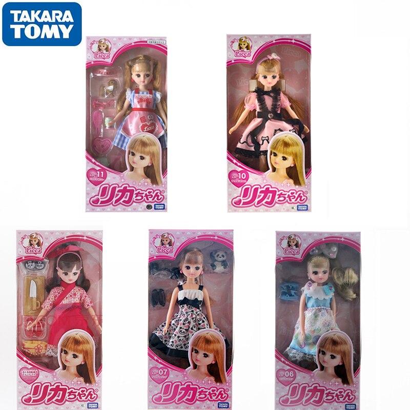 TAKARA TOMY-figura de Anime de Barbie, muñeco de juguete de simulación de...