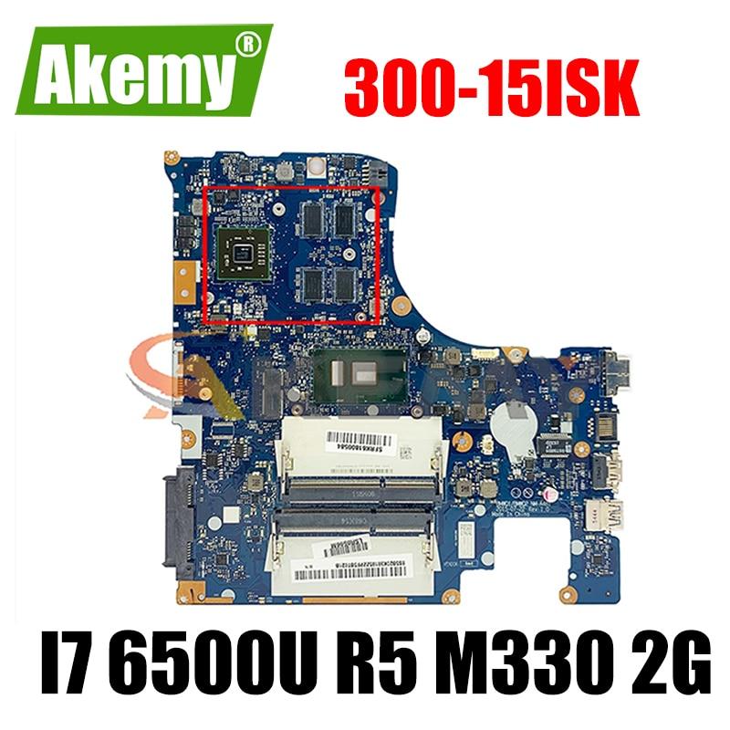Akemy لينوفو 300-15ISK اللوحة المحمول I7 6500U R5 M330 2G nm-a481 الرسومات المستقلة 100 اختبار موافق لا مشاكل الجودة