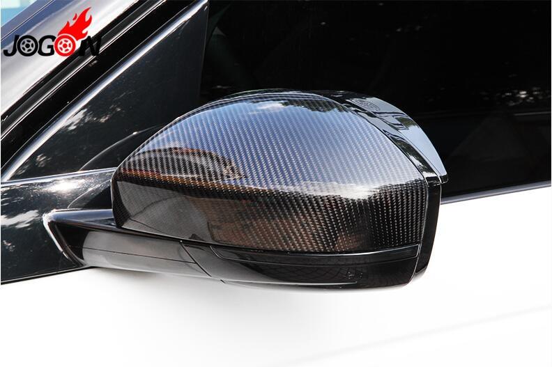Крышка зеркала заднего вида из углеродного волокна 1 1 Замена для Jaguar F-Pace X761 2016 2017