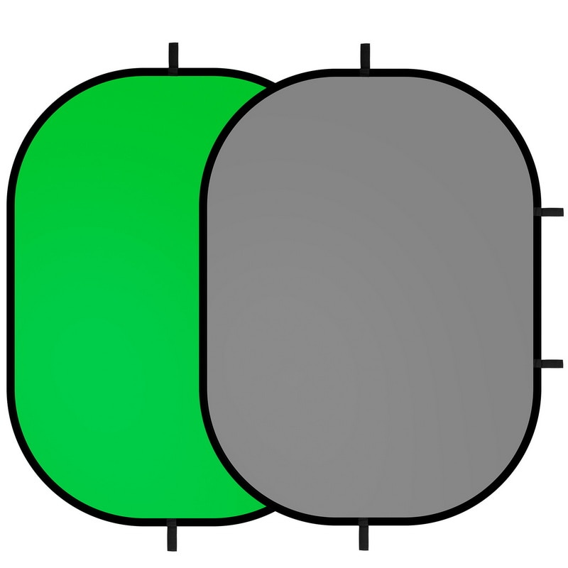 Selens Chromakey عاكس المحمولة خلفية شاشة خضراء خلفية الخلفيات ل يوتيوب فيديو ستوديو 100x150 سنتيمتر 2 في 1