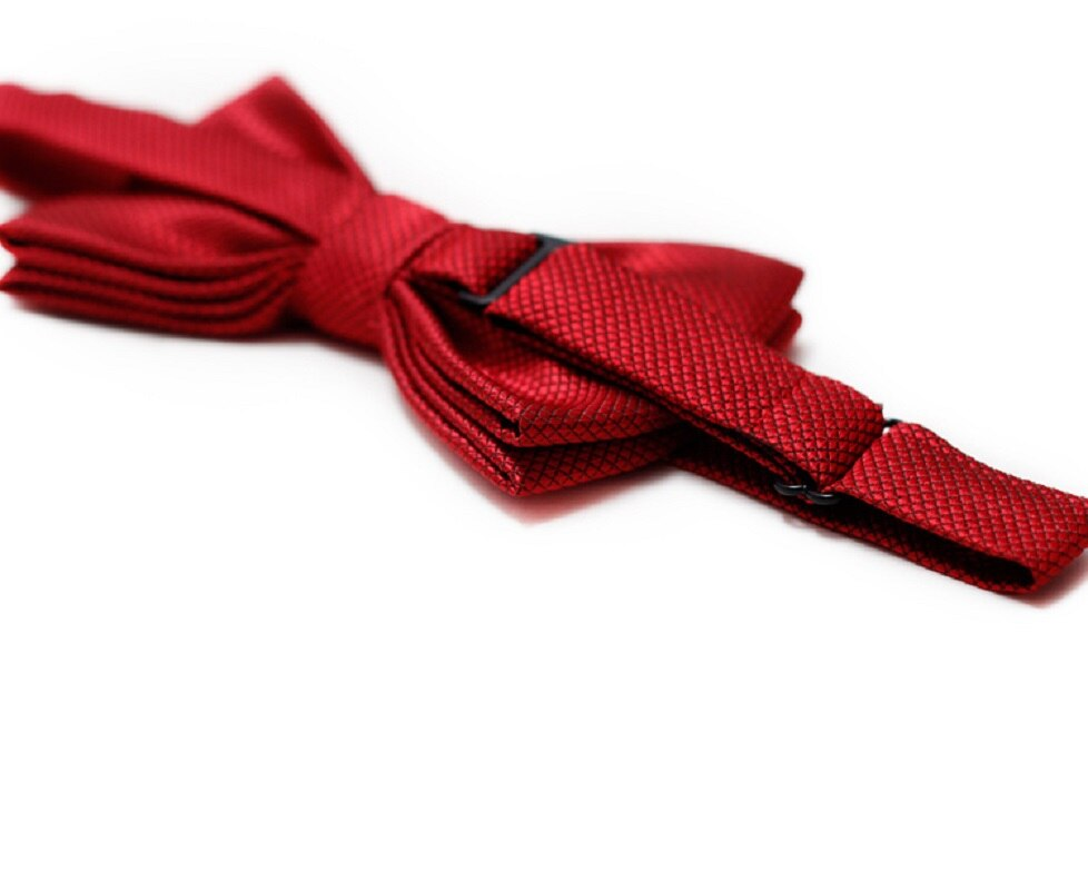High Quality 2020 New Bow tie Men Bow tie Solid Fashion Bowties Black Bowtie Gold Bow Tie Red Black Classic Bowties Men Gift Box