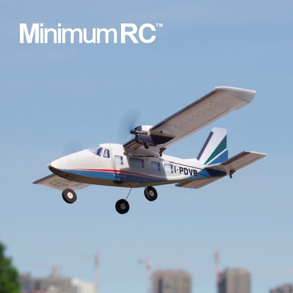 Minimum RC Italy P68 Dual Engine Fixed Wing Aircraft Model 4 Channels Freeshipping enlarge