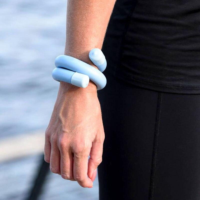 Anel de Pulso para Correr Treinamento de Peso Equipamentos de Fitness Peso Rolamento Pulseira Exercício Jogging Natação Yoga Vara