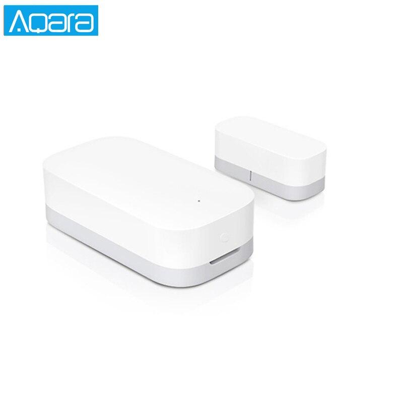 Aqara Tür Fenster Sensor Zigbee Drahtlose Verbindung Smart Mini tür sensor Arbeit Android IOS App control Für xiaomi mijia MI hause
