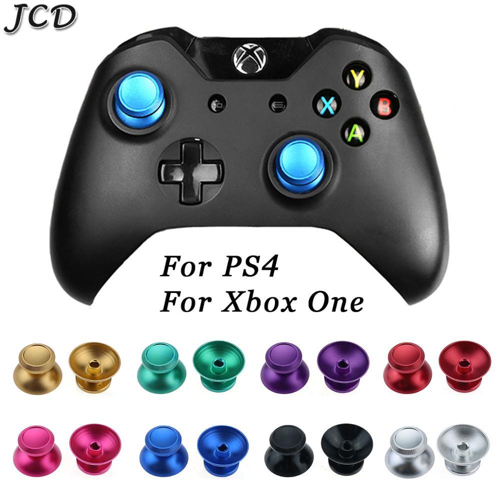 JCD 2 шт. металлические аналоговые флейты для Sony PS4 Slim Pro XBOX ONE Геймпад контроллер аналоговый стик